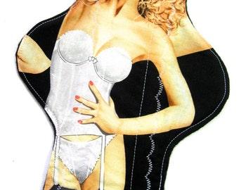 Lingerie Ladies Cloth Pad, custom cloth pad, reusable cloth pad