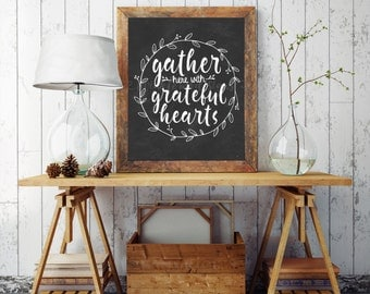 Dining Room Sign, Gather Sign, Dining Room Wall Art, Rustic Dining Room  Decor Part 67