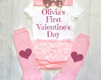 Valentine Outfit Girl Valentines Day Outfit Valentine's Day Shirt Toddler Valentine's Shirt for Girls Valentines Dress Baby Girl Valentine's