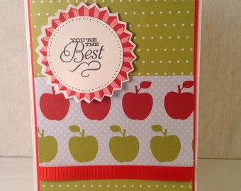 TEACHER THANK YOU Gift Card Holder