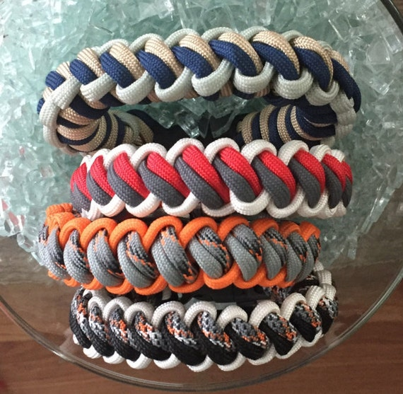 NewTwisted Paracord Bracelet, Natural outdoorsy colors, a new weave