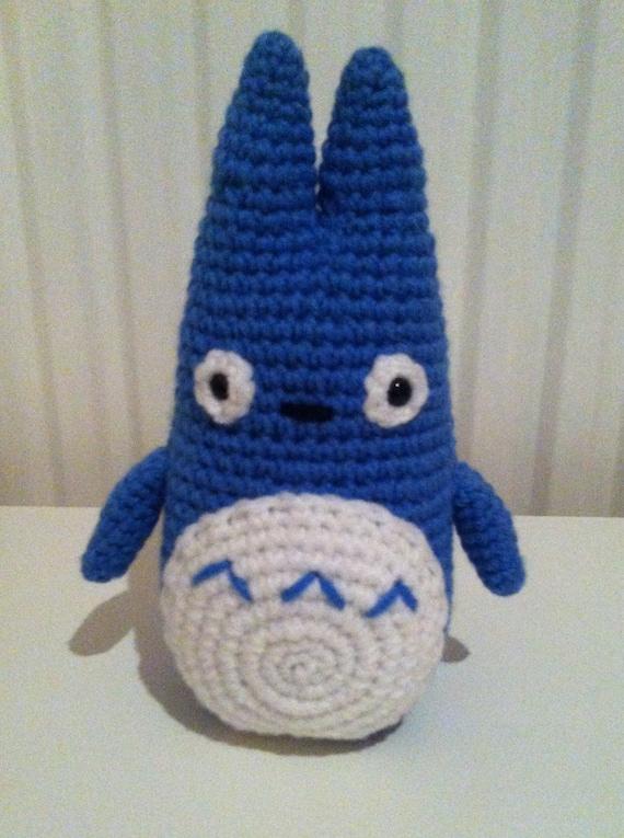 Totoro Crochet Totoro Amigurumi Totoro Handmade by ...
