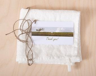 Linen Towels - Natural Linen Kitchen Towels - Dish Tea Towels - Stone Washed Linen Towels - Wedding Gift - Hand Linen Towels - White Towels