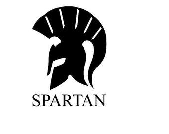 Spartan Vinyl Decals, Yeti Decals, RTIC Decals, Spartan Decals, Car Window Decals, Laptop Decals