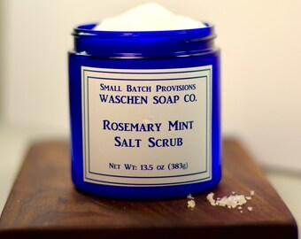 Rosemary Mint Salt Scrub
