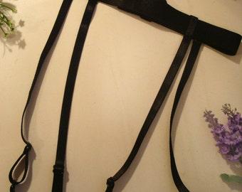 Straps garter belt Straps suspender belt Black harness Black suspender belt White suspender belt  Sexy garter belt Bridal suspender belt