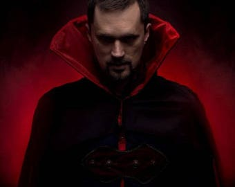 Vampire cloak, vampire cape, vampire costume, Halloween costume, Gothic cloak, Gothic cape
