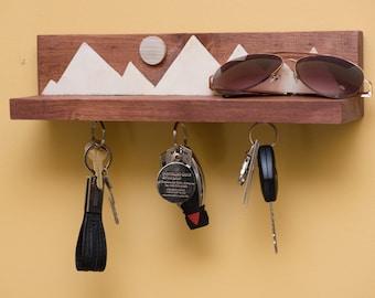 key holder,magnetic key holder,key holder for wall,wall key holder,key and mail holder,hanging key holder,compact key holder,key holder wall