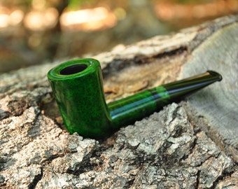 Lucky Dublin Tobacco Pipe. Smoking pipe. Briar pipe. Handmade. Briar wood pipes. Tobacco pipe