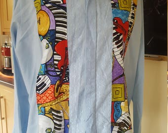 Vintage Up Cycled Evening Shirt