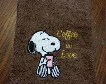 Coffee is Love/Hand Towel