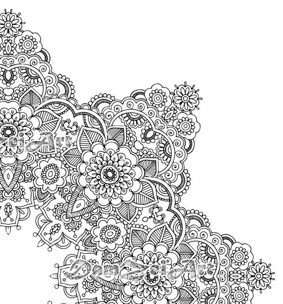 Design Coloring Pages Pdf : Mandala coloring pages printable pdf blank designs