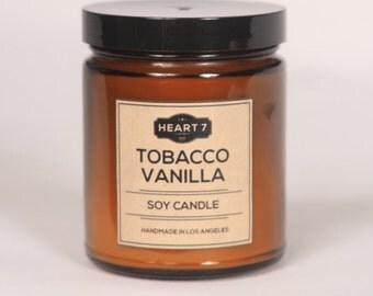 Tobacco Vanilla Soy Candle