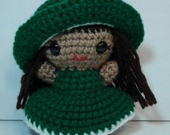 Amigurumi doll, Crochet doll.