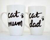 """Cat Mug Set """"Cat Mum..."""