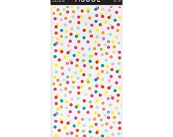 Confetti Dots Tissue Paper (Pack of 8 Sheets) | gift wrap | wrapping paper | birthday | gift | decorations | baby shower | engagement |