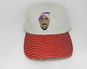 Tan Tupac Hat