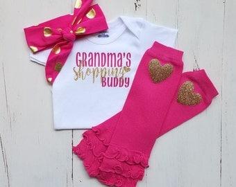 Grandma onesie, Baby girl clothes, Onesie, Baby girl, Baby clothes, Baby, Baby girl onesie, Onesies, Baby onesies, Baby girl onesies, Cute