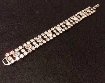 Little Starlet Vintage Glittery Costume Jewellery Bracelet