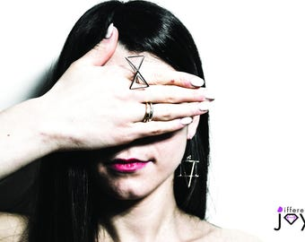 "Ring ""Fiocco"" anello argento 925 Gold Silver Rings | Minimalistic"
