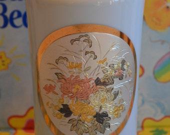 24K Gold Edged Chokin Vase