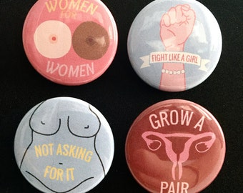 Women's Rights Pins