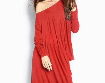 S-4XL Red dress free cut Jersey Dress casual wear Maxi dress women's Dress black Spring dress long sleeve Dress Floor Length Maxi gown red