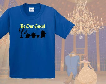 Be Our Guest, Beauty, Beast, Gifts for Him, Gift for Her