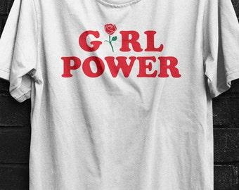 Girl Power t-shirt, Feminism Tee, Girl Power Shirt
