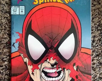 The spectacular Spider-man # 211//marvel comics//paper//1994