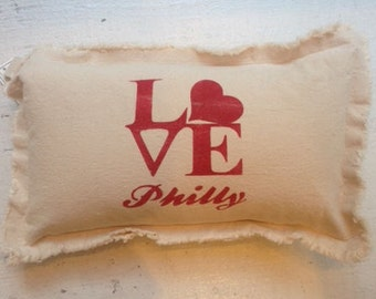 Philly Love Pillow