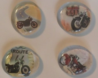 Motorcycle Magnets - Route 66 Magnet - USA Magnet - Motorcycle Lover Magnet - Birthday Gift