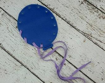 Balloon Lacing Card