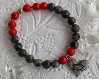 Mala bracelet Bless your heart