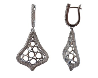 Soho Earrings | 925 Sterling Silver | Night Out Collection |  Cubic Zirconia | Free gift box | Free shipping Australia and New Zealand