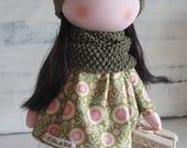 Tilda doll, fabric doll, handmade doll, girl doll, doll for gift, fabric doll handmade, baby doll, textile doll, gift, tilda fabric, dolls