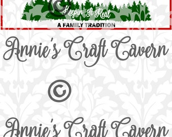 Christmas Tree Farm SVG