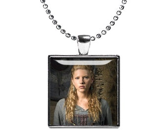 Largertha Necklace Fandom Jewelry Shield Maiden Pendant Vikings Jewelry Fangirl Fanboy