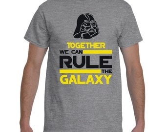Together we can RULE the Galaxy men's t-shirt, Darth Wader Men's t-shirt, Star Wars Gildan 2000 Men's T-Shirt, 100% cotton