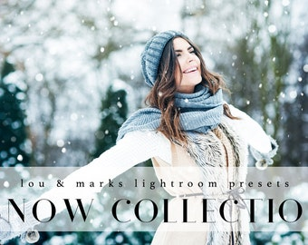 Snow Presets & Brushes for Lightroom Professional Photo Editing for Portraits, Newborns, Weddings By LouMarksPhoto