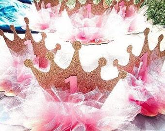 Princess Crown Tutu Centerpiece