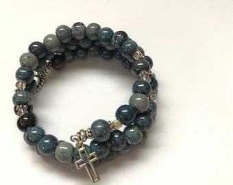 Rosary Bracelet Wrap