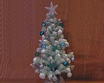 Christmas Tree, Home Decor, Christmas Ornament, Beach Decor, Nautical Decor, Coastal Christmas, Beach Decor Ornament, Holiday Ornaments