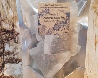 Vanilla Chamomile  Black tea