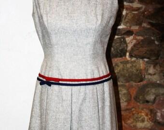 Vintage 1960 wool dress