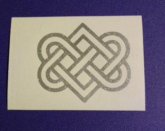 Celtic Eternal Love Decal - #147