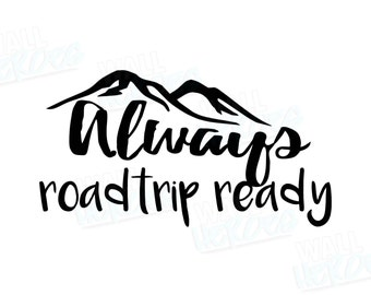 Roadtrip Car Decal | Car Decal | Window Decal | Explore Decal | Car Quote Decal | Wanderlust | Travel Decal