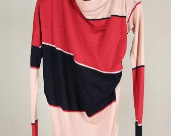 Vivienne Westwood Anglomania Wool Colorblock Top