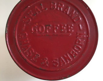 Antique Chase & Sanborn Coffee Container