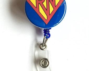 RN ID badge reel